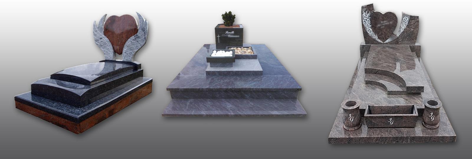 Consultez nos catalogues et découvrez nos réalisations de monuments.
