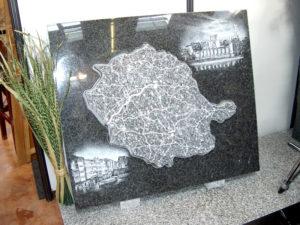 Carte du Tarn en granit