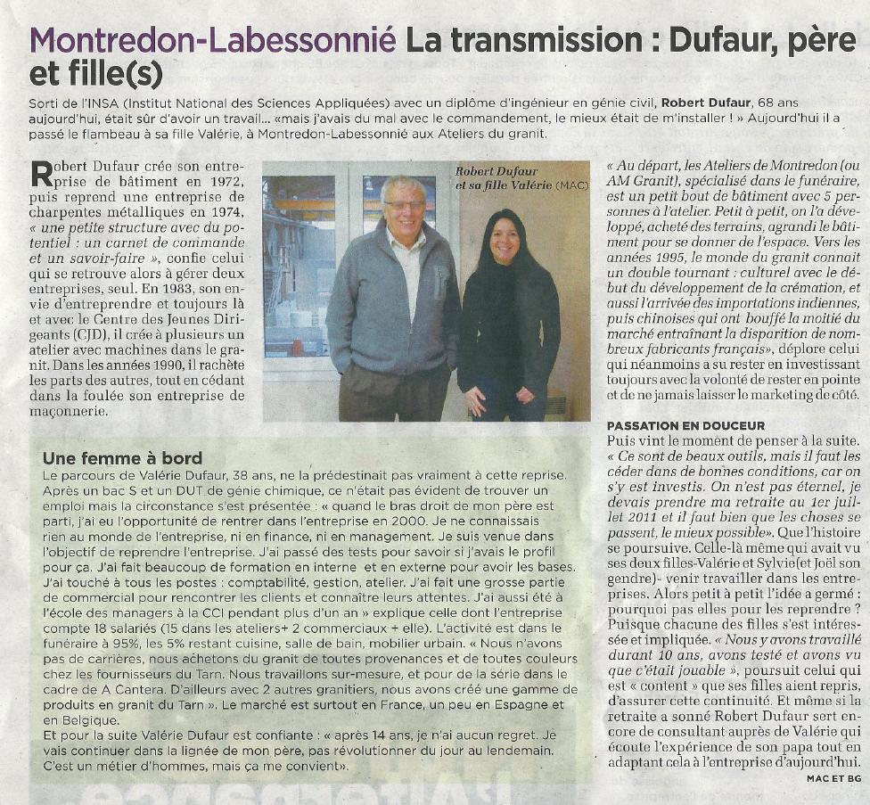 Journal d'ici – Février 2014