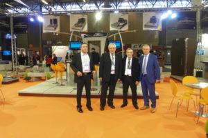 Mr Vasselon, Mr Dufaur,Mr Mougel et Mr Carega