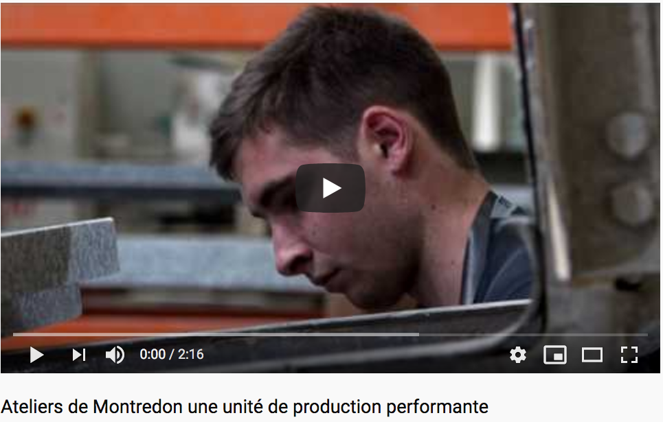 Ateliers de Montredon une unité de production performante