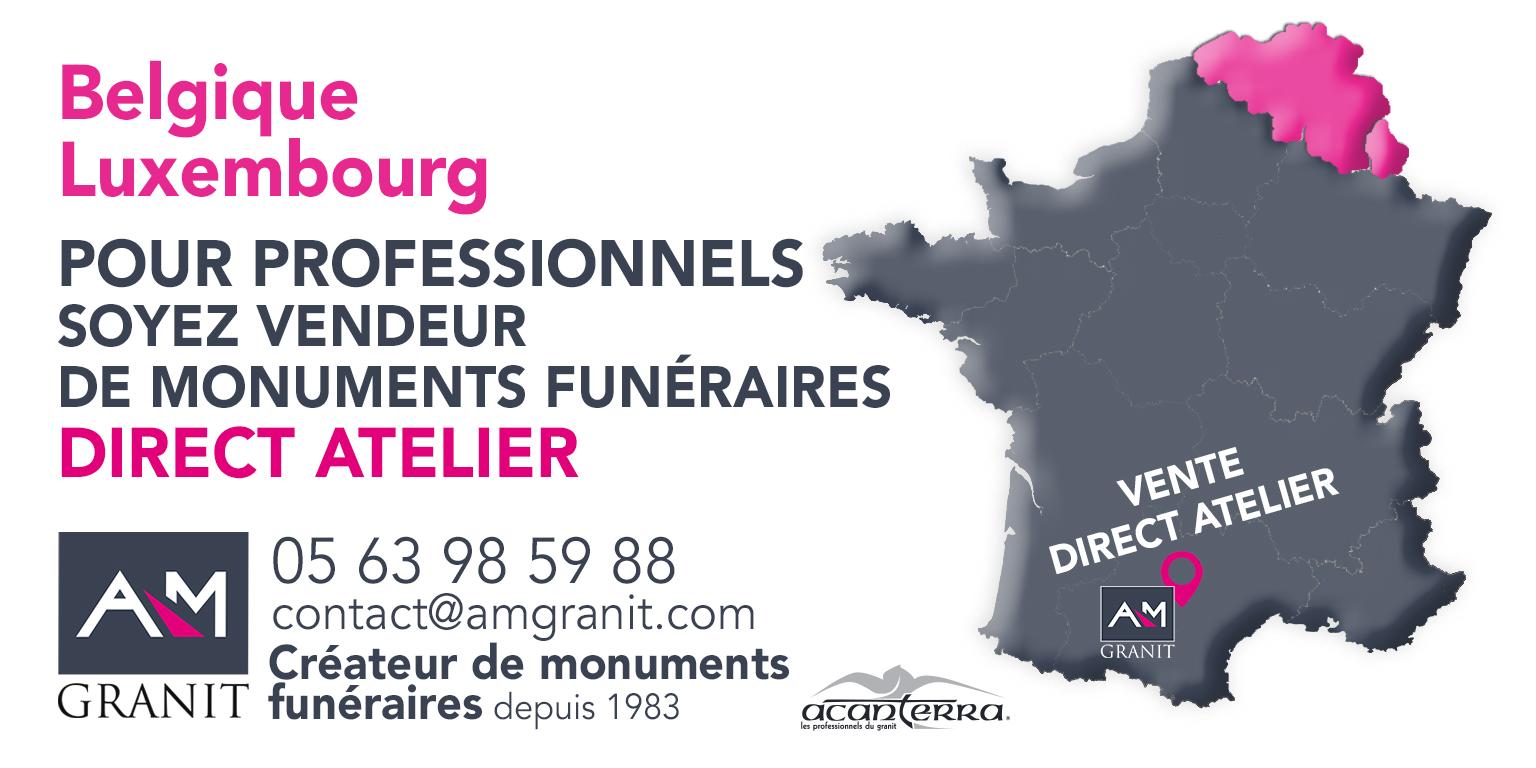 Carte Belgique Luxembourg